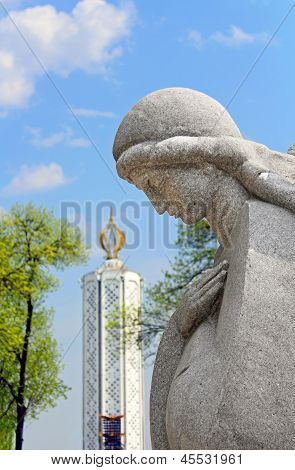 Monument To The Millions Of Victims Of The Great Famine In 1932-1933 In Kiev