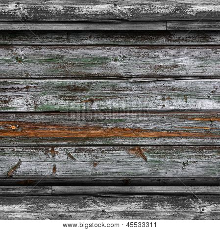old gray fence green boards wood texture wallpaper