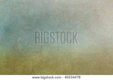 Textured Grass And Sky Background