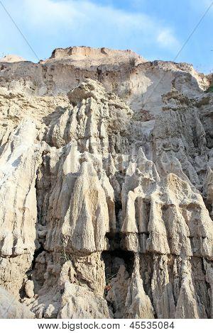 Rock Pinnacles At The Fairy Stream, Mui Ne, Vietnam
