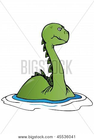 Swimming Dinosaur