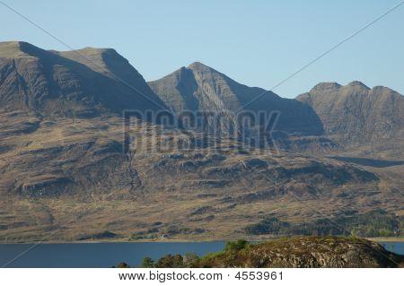 Scottish Peak And Loch.