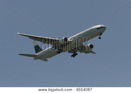 Passenger Airliner Taking Off