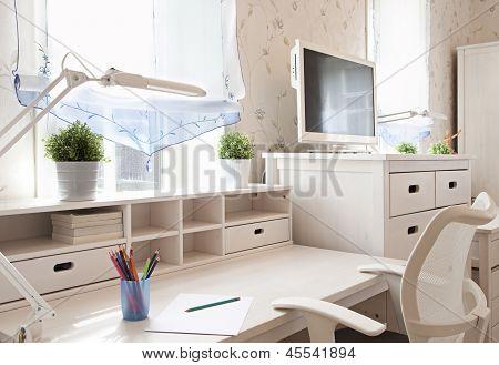 Schoolroom In Home