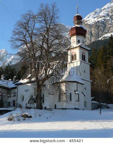 St.martin, Gnadenwald Im Winter