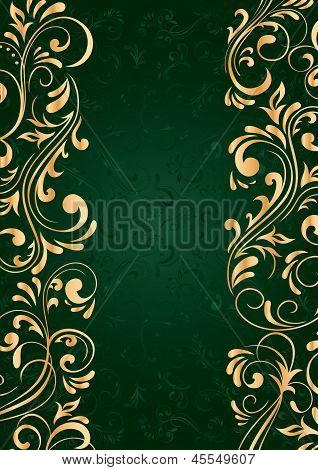 Background With Vertical Pattern