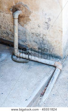 Metal Old Pipe