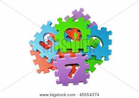 Multi-color Puzzle Blocks