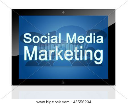 Marketing Social Tablet