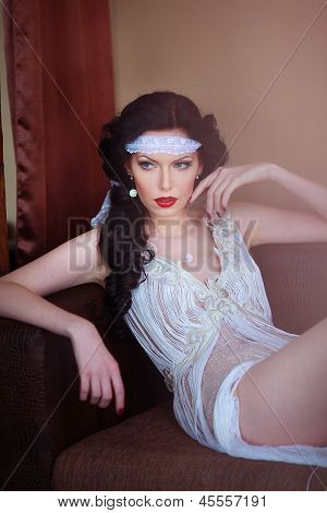 seductive look