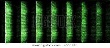 Green Black Striped Matrix Style Background Texture