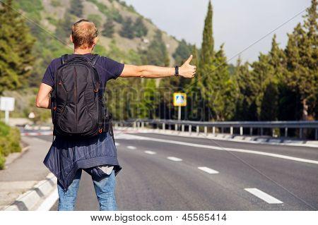 Hitchhiking Travel