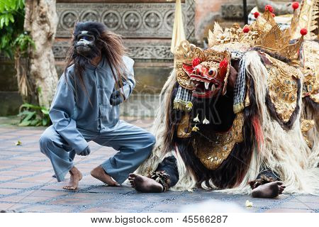 Barong And Kris Dance Perform, Bali, Indonesia