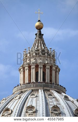 Saint Peter Cathedral Dome