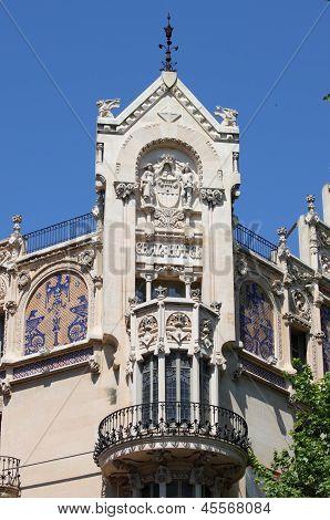 Facade of Gran Hotel in Palma de Mallorca