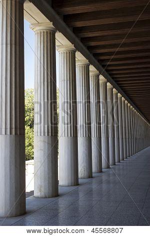ancient creek columns