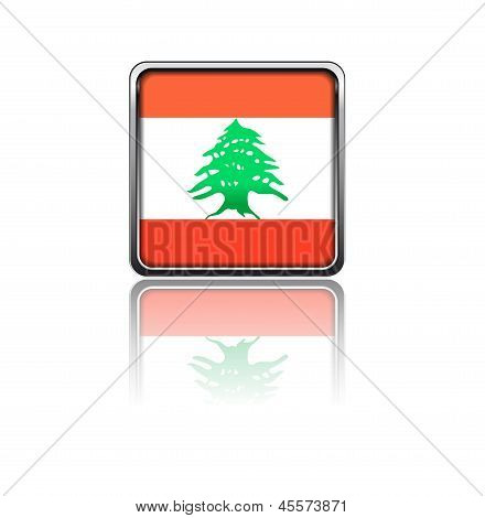 National flag of Lebanon