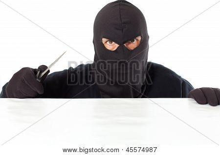 Thief With A Knife