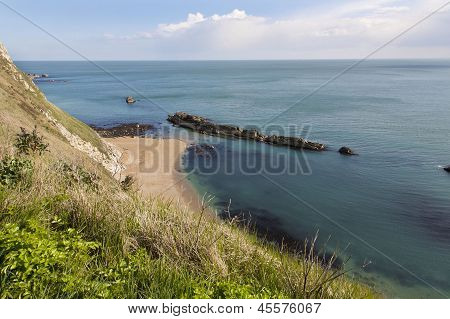St Oswalds Bay Near Durdle Door,dorset