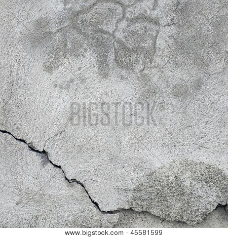 Grunge Gray Wall Stucco Texture, Natural Grey Rustic Concrete Plaster Macro Closeup, Old Aged Detail