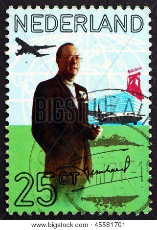 Postage Stamp Netherlands 1971 Prince Bernhard