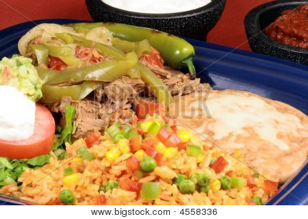 Delicious Mexican Meal