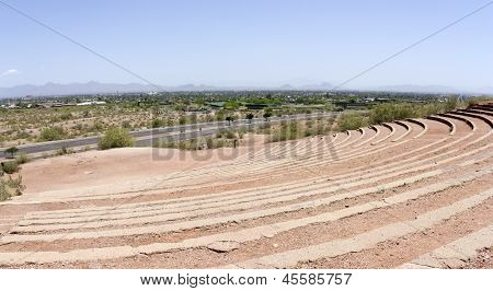 Papago park amphitheater, AZ