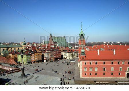 Ciudad vieja y Palacio Real de Varsovia