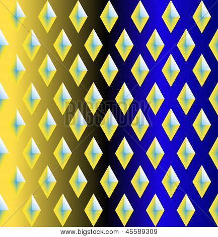 Seamless  Pattern With  Rhombuses