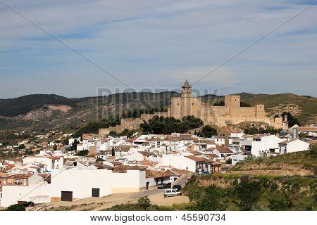 Moorish Castle In Antequera, Spain