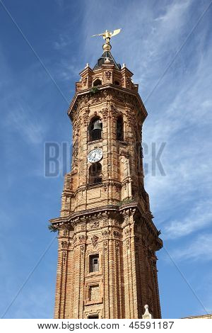Church Tower In Antequera, Spain