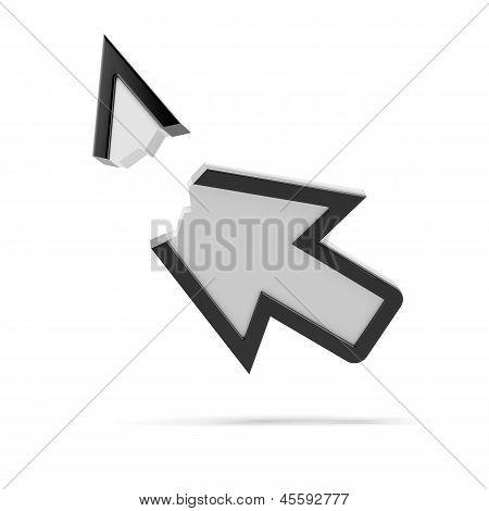 Broken arrow. Error page