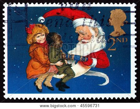 Postage Stamp Gb 1997 Christmas Crackers