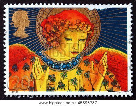Postage Stamp Gb 1998 Christmas Angel