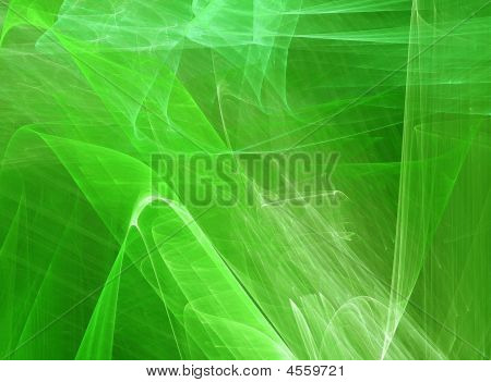 Green Super Render Background