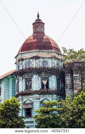 Yangon (Rangoon) building from British Imperial time