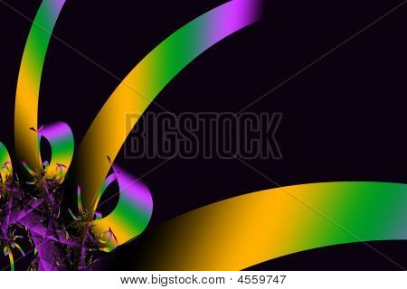Simple Mardi Gras Background