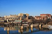 image of knoxville tennessee  - View of University of Tennessee in Knoxville - JPG