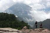 slopes of Mount Merapi