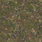 stock photo of camoflage  - Summer Camouflage Pattern - JPG