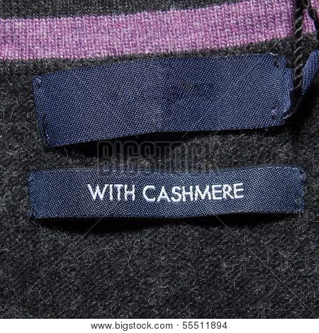 With Cashmere Label