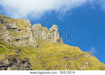 Bucegi Mountains Landscape