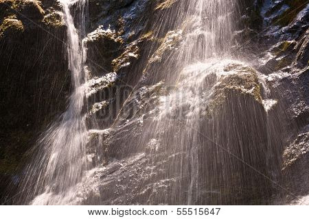 Beautiful Natural Waterfall
