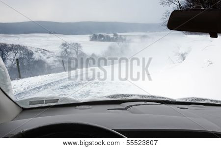 Driving In A Snowstorm