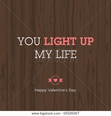 Love expression light