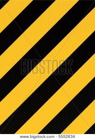Traditionele waarschuwing Stripe