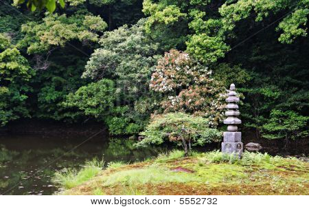 The Peace And Quiet Of A Japanese Garden