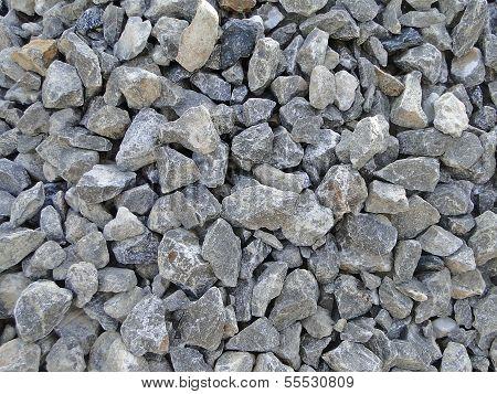 Gravel stones texture