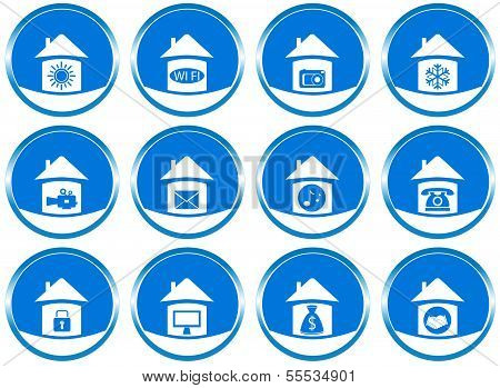 set icons for web site design