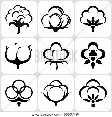 Cotton Icons Set